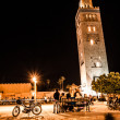 Koutoubia mosque, Marrakech, Morocco, Africa — Stock Photo