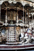 Merry go round in Paris — Stock Photo