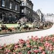 The Luxembourg Palace in beautiful garden, Paris, France — Stock Photo #18619687