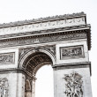 Arch of Triumph on Charles De Gaulle square. Paris, France — Stock Photo #18619909