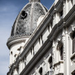 White building in center of Madrid, Spain — Stockfoto