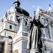 Beautiful architecture- Cathedral Almudena, Madrid, Spain — Foto Stock