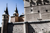 The famous Alcazar of Segovia, Castilla y Leon, Spain — Stock Photo