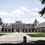 The Royal Palace of Aranjuez. Madrid (Spain) — Stock Photo #18751225