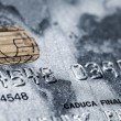 Credit card-financial background — Stock Photo