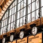 Flinders Street Station The entrance to Flinders Street Station. Australia, Melbourne. — Stock Photo