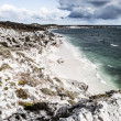 Stock Photo: Scenic view over one of the beaches of Rottnest island