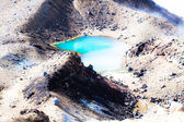 Emerald Lakes Tongariro National Park, New Zealand — Stock Photo