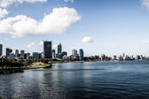 Perth Skyline from Kings Park — Stock Photo