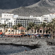 Popular canarian resort Playa de Las Americas, Tenerife, Spain — Stock Photo