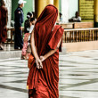 Buddhist monk in Myanmar — Stock Photo