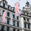 Regent Street is one of major shopping streets in Europe — Stock Photo #19035765