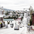 Stock Photo: Hobart suburb, Tasmania, Australia