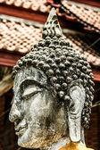 Zniszczony Stary Rozciągacz ayutthaya, Tajlandia, — Zdjęcie stockowe