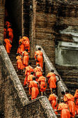 Monks in Ayutthaya, Thailand — Stock Photo
