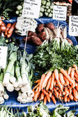 Fresh Carrots At The Local Market — 图库照片