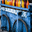 Stock Photo: Fresh juices are great alternatives to polluted drinking water in India.