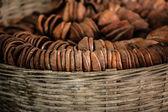 Rustikale handgemachte keramik — Stockfoto