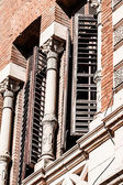 Old buildings and architecture in Madrid, Spain. — Stock Photo