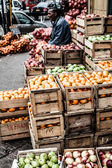 Fruit market in Chile — Stock Photo