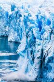 Vista del ghiacciaio magnifico perito moreno, patagonia, argentina. — Foto Stock