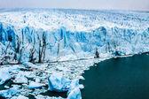 Pohled na nádherné perito moreno glacier, patagonie, argentina. — Stock fotografie