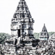 Royalty-Free Stock Photo: Hindu temple Prambanan. Indonesia, Java, Yogyakarta