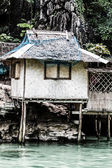 Fishing village in Coron the Philippines — Stock Photo