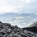 Volcano Fuego in Guatemala — Stock Photo