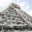 Mayan pyramid of Kukulcan El Castillo in Chichen-Itza (Chichen Itza), Mexico - Stock fotografie