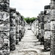 Historic place in Chichen Itza Mexico - Zdjęcie stockowe
