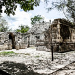 Stock Photo: Historic place in Chichen ItzMexico