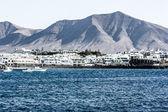 Costa Blanca, Lanzarote — Stock Photo