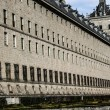 El Escorial - historical residence of the king of Spain, near Madrid — Stock Photo