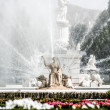 Ceres fountain at Parterre garden , Aranjuez (Madrid) - Stock Photo