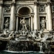 Trevi Fountain, Rome - Italy. Trevi Fountain (Fontana di Trevi) is one of the most famous landmark in Rome. — Stock Photo