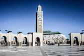 The Hassan II. mosque in Casablanca, Morocco — Stock Photo