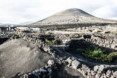 Mountains of fire,Timanfaya National Park in Lanzarote Island — Stock Photo