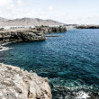 Playa de Papagayo (Parrot's beach) on Lanzarote, Canary islands, Spain — Zdjęcie stockowe