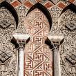 Arabiarches in spanish town of Cordoba, symbol of arabidomination in Middle Age, in mudejar style. — Stock Photo #20122203
