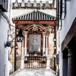 Moorish Barrio de la Villa, Priego de Cordoba, Andalusia, Spain — Stock Photo #20255205