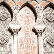 Arabian arches in spanish town of Cordoba, symbol of the arabian domination in Middle Age, in mudejar style. — Stock Photo