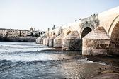 Puente romano de córdoba — Foto de Stock