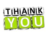 3D Thank You Button Click Here Block Text — Foto de Stock