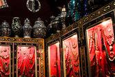 Souvenir shop in the medina of Fes, Morocco — Stock Photo