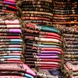Bright paints of the Moroccan and berber carpets — Foto Stock