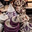 Moroccan souvenir shop in local street — Foto Stock