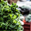 Various fruits at vegetable market. — Stock Photo #23256098
