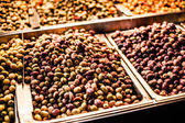 Colored Olives from Moroccan Market — Stock Photo