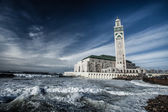 The Mosque of Hassan II in Casablanca, Africa — Stock Photo